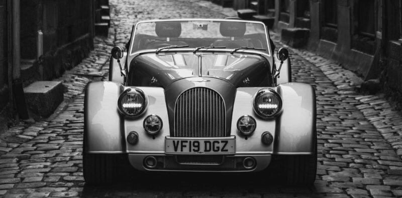 In ihrer Morgan-Garage erhältlich: Der neuen Morgan Plus Six