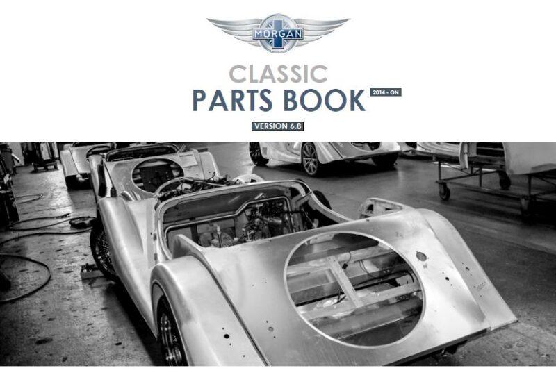 Morgan Classic Parts Book